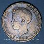 Monnaies Espagne. Alphonse XIII (1886-1931). 5 pesetas 1896(96)PG-V. Valence