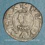 Monnaies Espagne. Comté de Barcelone. Pierre III (1336-1387). Obole