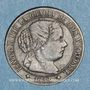 Monnaies Espagne. Isabelle II (1833-1868). 1/2 centimos 1868 OM