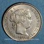 Monnaies Espagne. Isabelle II (1833-1868). 1 real 1860. Madrid