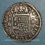 Monnaies Espagne. Philippe V (1700-1746). 2 reales 1724A. Madrid
