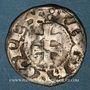 Monnaies Espagne. Royaume d'Aragon. Jacques I (1213-1276). Denier
