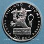 Monnaies Finlande. 20 écu 1996. (PTL 925/1000. 24 g)