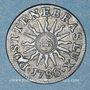 Monnaies Genève. 2 quarts (= 6 deniers) 1788