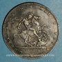 Monnaies Grande Bretagne. Georges III (1760-1820). Crown 1820 LX