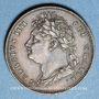 Monnaies Grande Bretagne. Georges IV (1820-1830). Farthing 1823