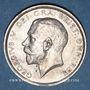 Monnaies Grande Bretagne. Georges V (1910-1936). 1/2 couronne 1915