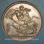 Monnaies Grande Bretagne. Victoria (1837-1901). 1 crown 1889