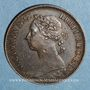 Monnaies Grande Bretagne. Victoria (1837-1901). 1 farthing 1883