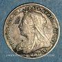 Monnaies Grande Bretagne. Victoria (1837-1901). 3 pence 1897