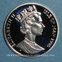 Monnaies Ile de Man. Elisabeth II (1952- ). 15 écu 1995. (PTL 925/1000. 10 g)