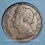 Monnaies Irlande. Georges IV (1820-1830). 1 penny 1823