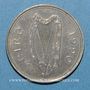 Monnaies Irlande. République. 1 punt 1990