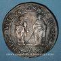 Monnaies Italie. Casale assiégée par les espagnols. 20 florins 1630. Bronze. R ! R !