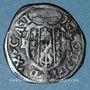 Monnaies Italie. Duché de Castro. Pierre-Louis de Farnese (1537-1547). Quattrino