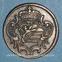 Monnaies Italie. Gorize. François II d'Autriche (1792-1804). 1 soldo 1799H. Nagybanya