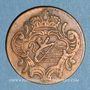 Monnaies Italie. Gorize. François II d'Autriche (1792-1804). 1 soldo 1799H