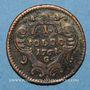 Monnaies Italie. Gorize. Joseph II (1780-1790). 1 soldo 1762G. Günzbourg