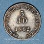 Monnaies Italie. Lombardie-Vénétie. François Joseph I (1849-1866). 5/10 soldo 1862A. Vienne