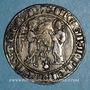Monnaies Italie. Royaume de Naples. Charles I d'Anjou (1266-1285). Salut d'argent. Naples