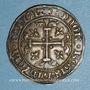 Monnaies Italie. Royaume de Naples. Charles II d'Anjou (1285-1309). Carlin ou gigliato. Naples, 1303-1309