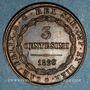 Monnaies Italie. Sardaigne. Charles Félix (1821-1831). 5 centesimi 1826 Turin