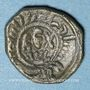 Monnaies Italie. Sicile. Les Normands. Guillaume II (1166-1189). Follaro concave. Messine