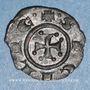 Monnaies Italie. Sicile. Les Suèves. Manfred (1258-1266). Denier. Manfredoine
