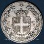 Monnaies Italie. Umberto I (1878-1900). 2 lires 1882 R. Rome