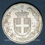 Monnaies Italie. Umberto I (1878-1900). 2 lires 1887 R. Rome