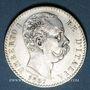 Monnaies Italie. Umberto I (1878-1900). 2 lires 1887R. Rome