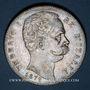Monnaies Italie. Umberto I (1878-1900). 5 lires 1879 R. Rome