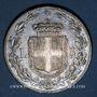 Monnaies Italie. Umberto I (1878-1900). 5 lires 1879R. Rome