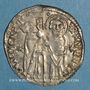Monnaies Italie. Venise. Antoine Venier (1382-1400). Gros, 3e type