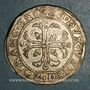 Monnaies Italie. Venise. Francesco Erizzo (1631-1646). 1/2 scudo à la croix (70 soldi)
