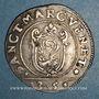 Monnaies Italie. Venise. Giovanni Bembo (1615-1618). 1/4 scudo à la croix (35 soldi)