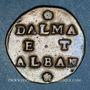 Monnaies Italie. Venise. Monnayage anonyme pour la Dalmatie et l'Albanie. Gazetta (2 soldi)