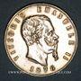 Monnaies Italie. Victor Emmanuel II (1861-1878). 5 lires 1876R. Rome