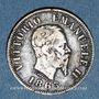 Monnaies Italie. Victor Emmanuel II (1861-1878). 50 centesimi 1863M. Milan