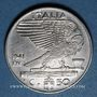Monnaies Italie. Victor-Emmanuel III (1900-1946). 50 centesimi 1941R, XIX
