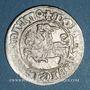 Monnaies Lituanie. Grand Duché. Sigismond II le Vieux (1506-1544). 1/2 gros 1510