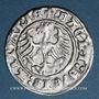 Monnaies Lituanie. Grand Duché. Sigismond II le Vieux (1506-1544). 1/2 gros 1513