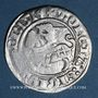 Monnaies Lituanie. Grand Duché. Sigismond II le Vieux (1506-1544). 1/2 gros 1514