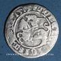 Monnaies Lituanie. Grand Duché. Sigismond II le Vieux (1506-1544). 1/2 gros 1515