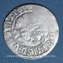 Monnaies Lituanie. Grand Duché. Sigismond II le Vieux (1506-1544). 1/2 gros 1518