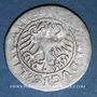 Monnaies Lituanie. Grand Duché. Sigismond II le Vieux (1506-1544). 1/2 gros 1519