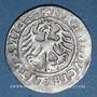 Monnaies Lituanie. Grand Duché. Sigismond II le Vieux (1506-1544). 1/2 gros 1520