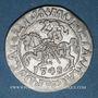 Monnaies Lituanie. Grand Duché. Sigismond III Auguste (1544-1572). 1/2 gros 1548