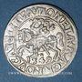Monnaies Lituanie. Grand Duché. Sigismond III Auguste (1544-1572). 1/2 gros 1549