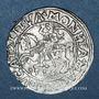 Monnaies Lituanie. Grand Duché. Sigismond III Auguste (1544-1572). 1/2 gros 1556
